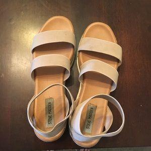 Steve Madden Bandi Platform Wedge Sandal, size 9